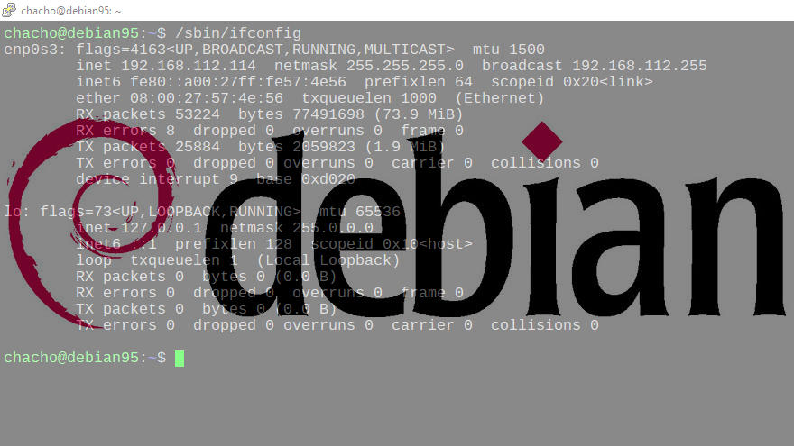 Cómo Instalar ifconfig en Debian 9