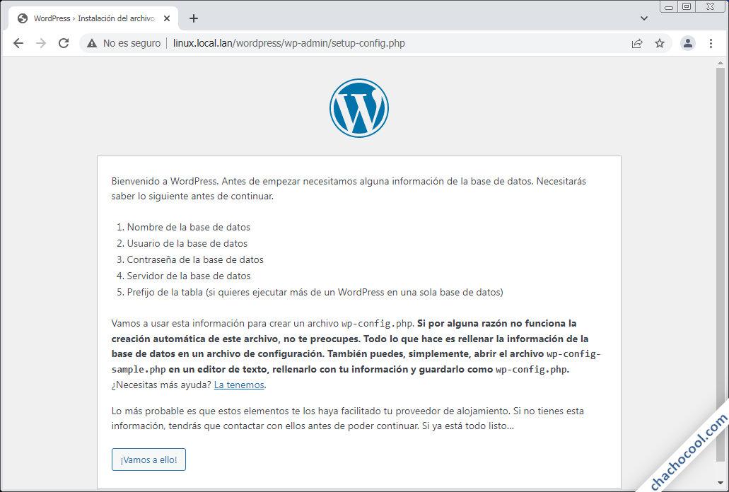 como instalar wordpress en linux