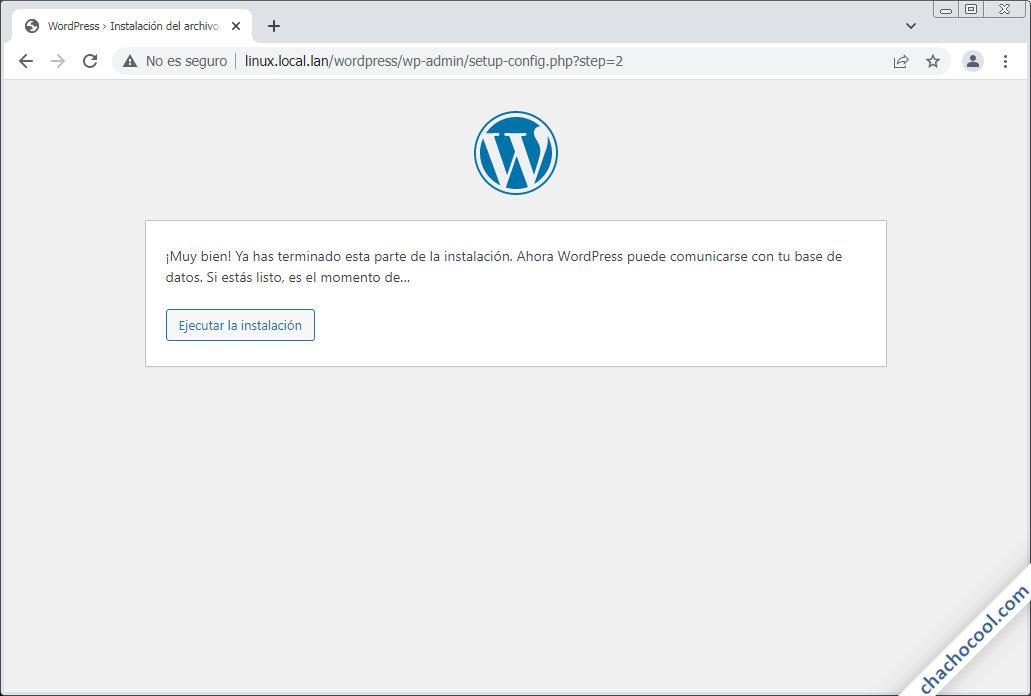 instalacion de wordpress en linux