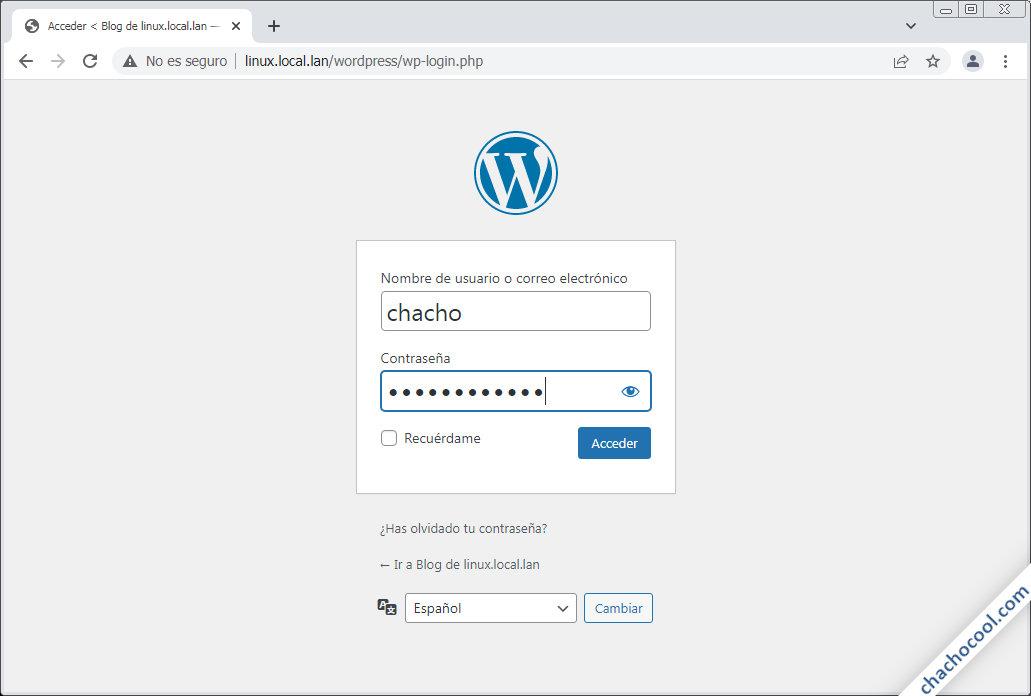 wordpress para linux