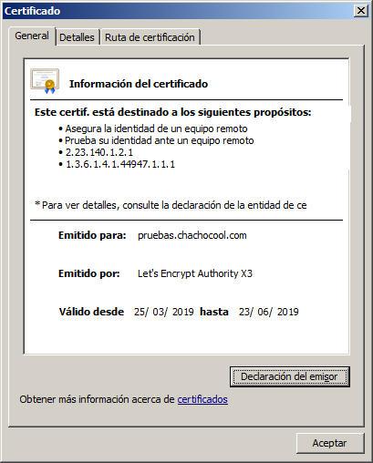 certificado ssl para mi web