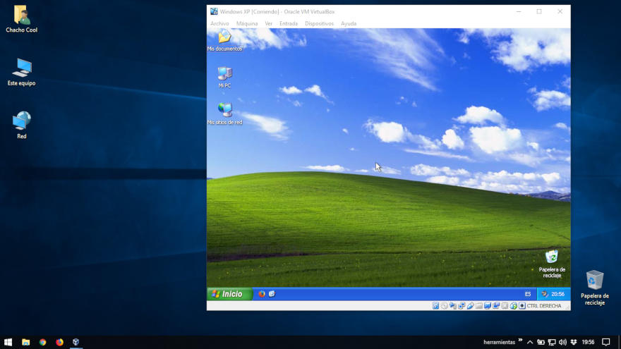 Cómo crear una máquina virtual con Windows XP