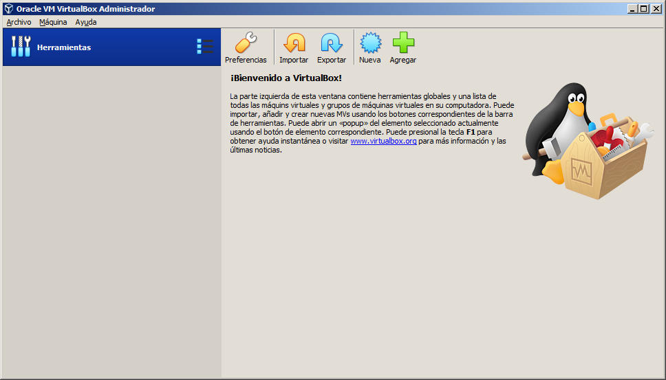 como crear la maquina virtual para windows xp con virtualbox
