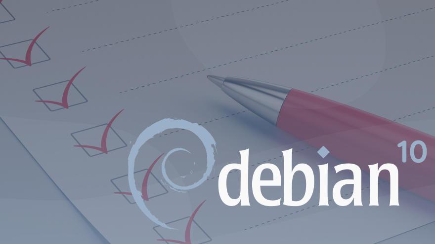 Qué hacer después de instalar Debian 10 Buster