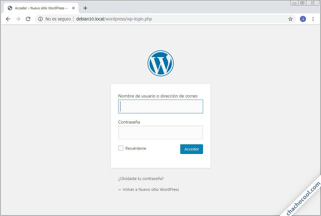 como cambiar y proteger la pagina de login de wordpress