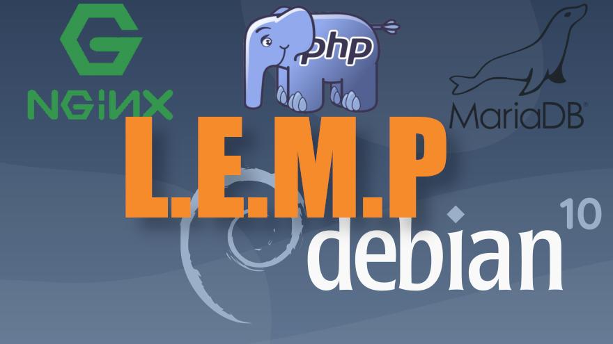 Cómo instalar LEMP en Debian 10 Buster