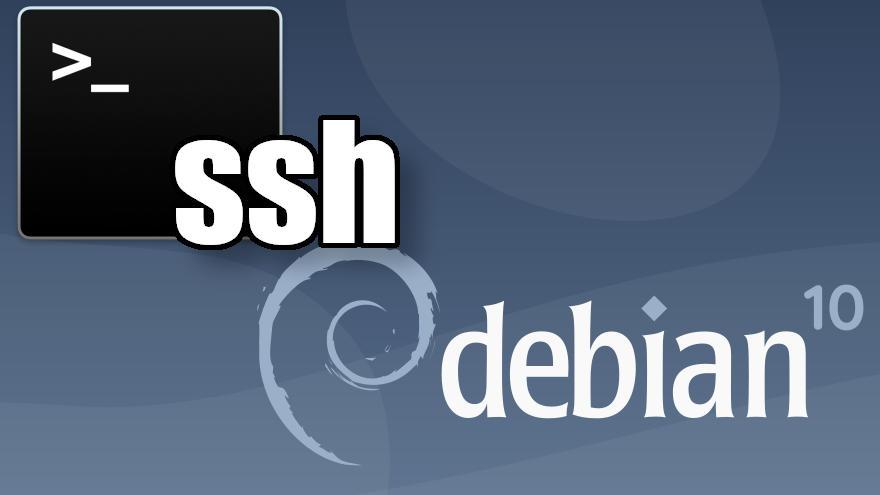 Cómo instalar SSH en Debian 10 Buster