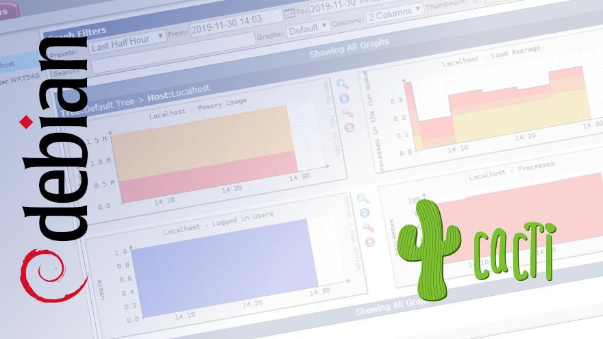 Cómo instalar Cacti en Debian 9 Stretch
