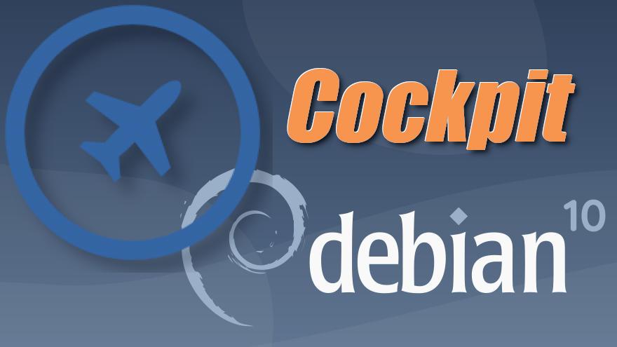 Cómo instalar Cockpit en Debian 10 Buster
