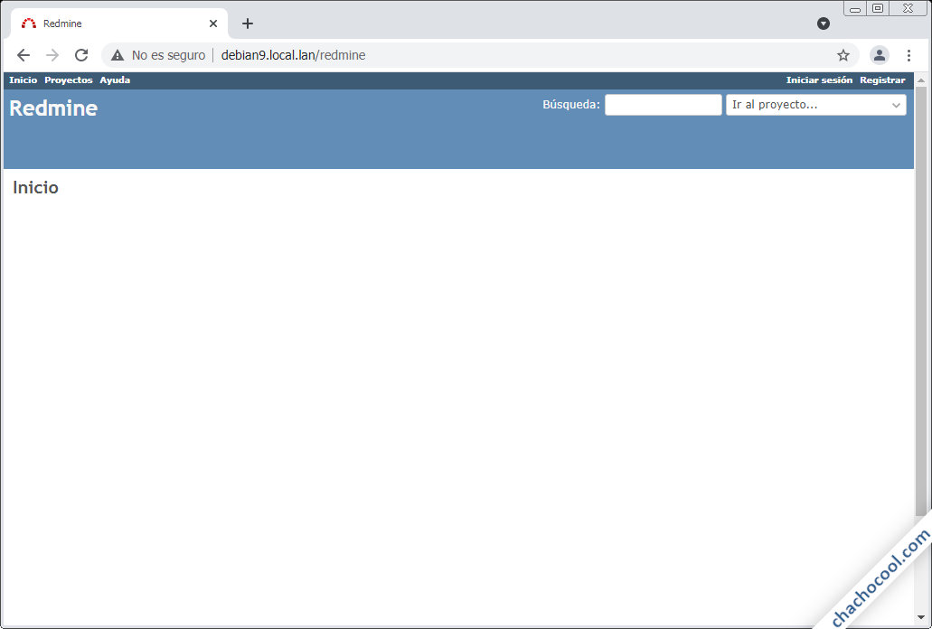 instalar redmine en debian 9 stretch