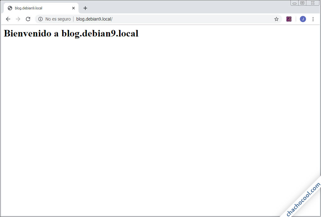 como configurar servidores virtuales de nginx en debian 9 stretch