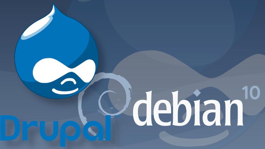Cómo instalar Drupal en Debian 10 Buster