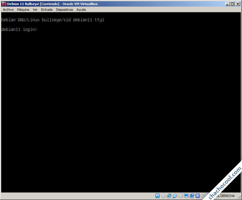 Debian 11 Bullseye en VirtualBox