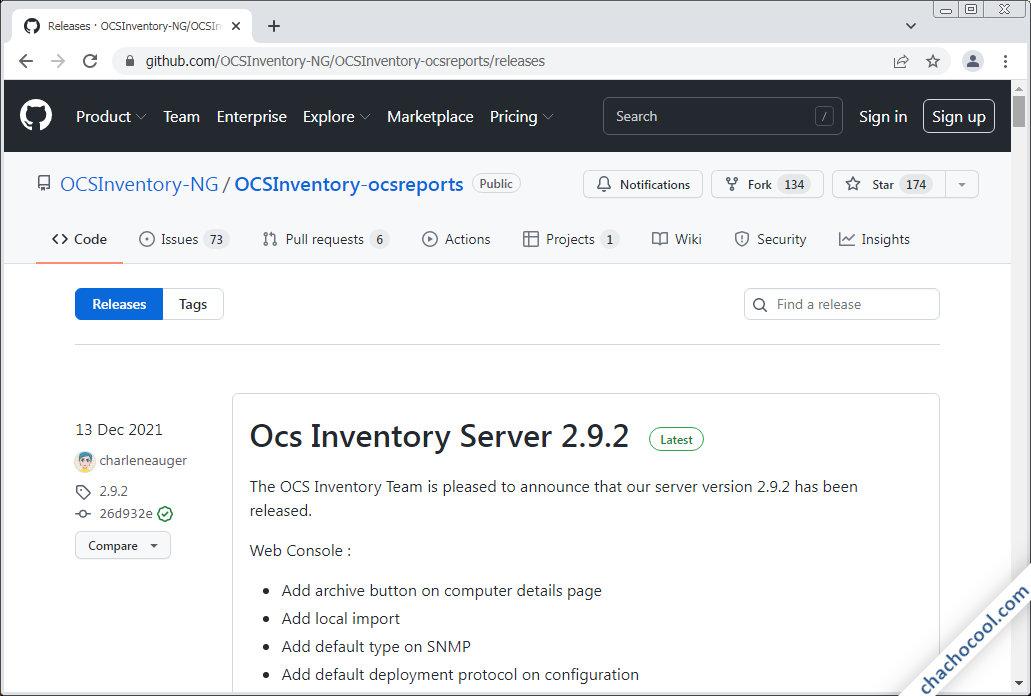 como descargar ocs inventory ng server para debian 10 buster