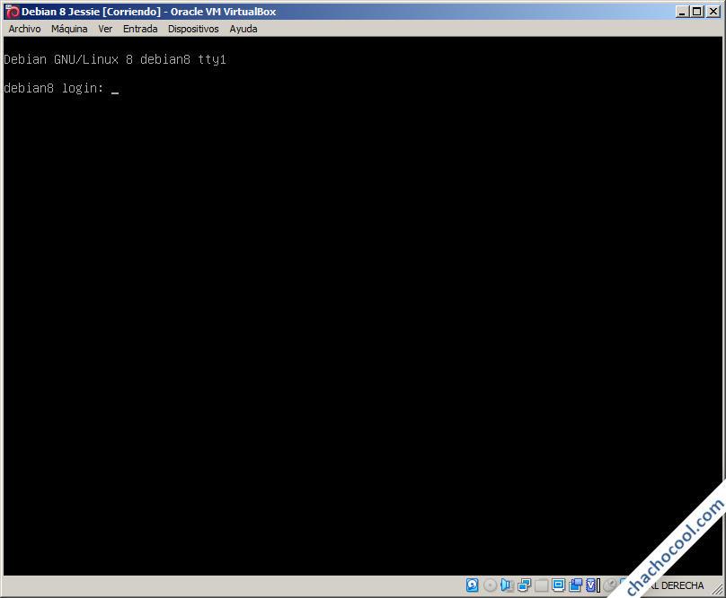 instalar debian 8 jessie en virtualbox con exito