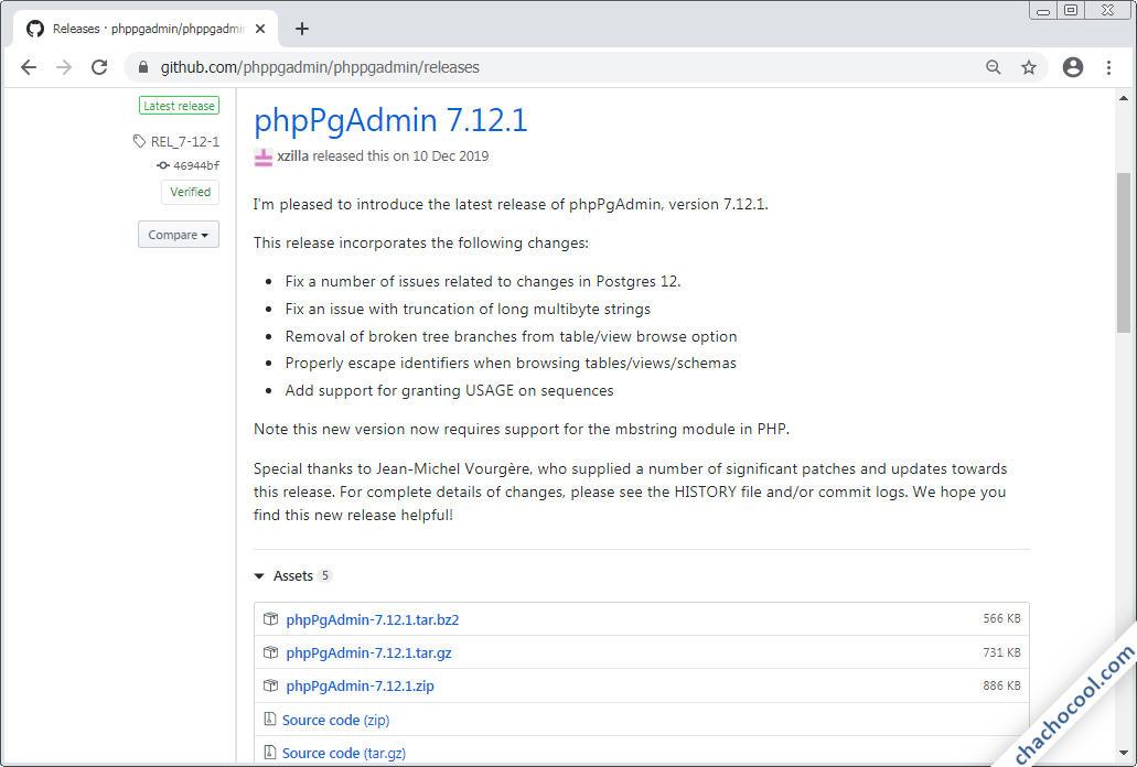 como descargar phpPgAdmin para Debian 8 Jessie
