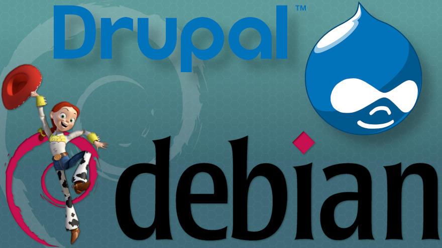 Cómo instalar Drupal en Debian 8 Jessie