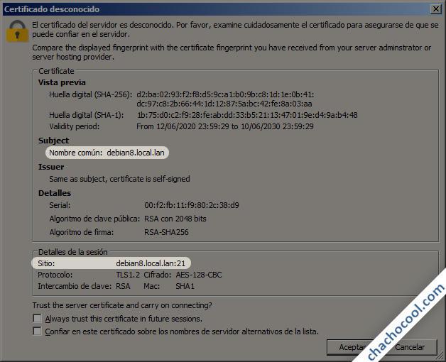 instalar y configurar un servidor ftp en debian 8jessie