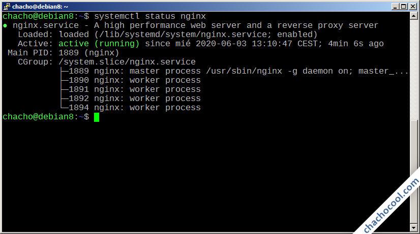 como instalar nginx en debian 8 jessie