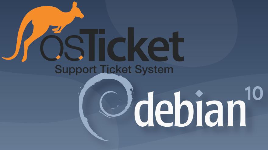 Cómo instalar osTicket en Debian 10 Buster