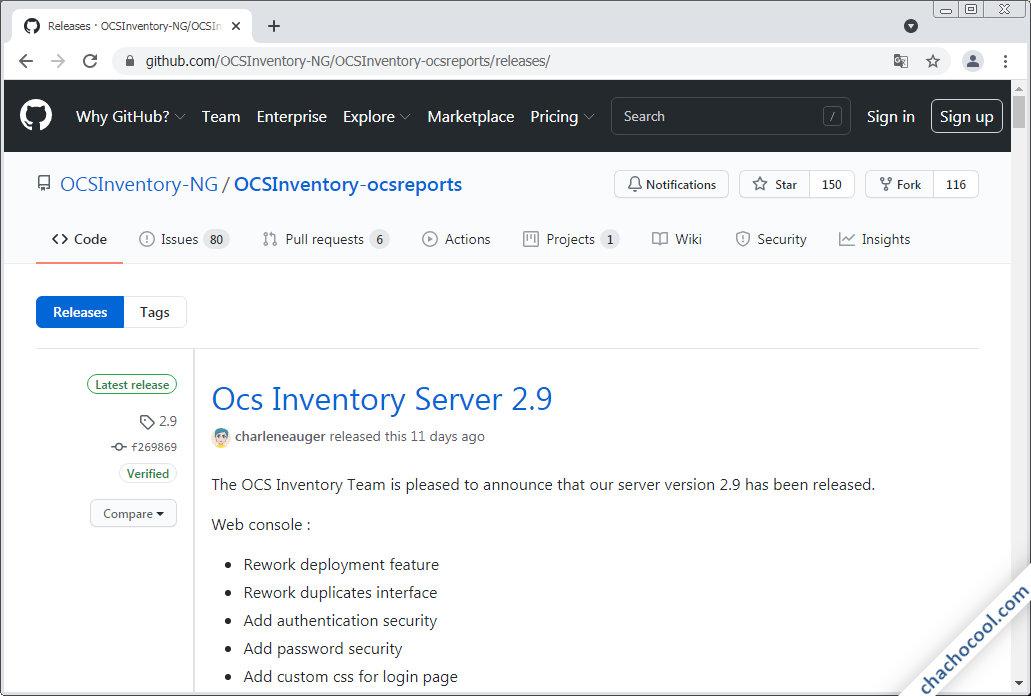 como descargar ocs inventory ng server para debian 8 jessie