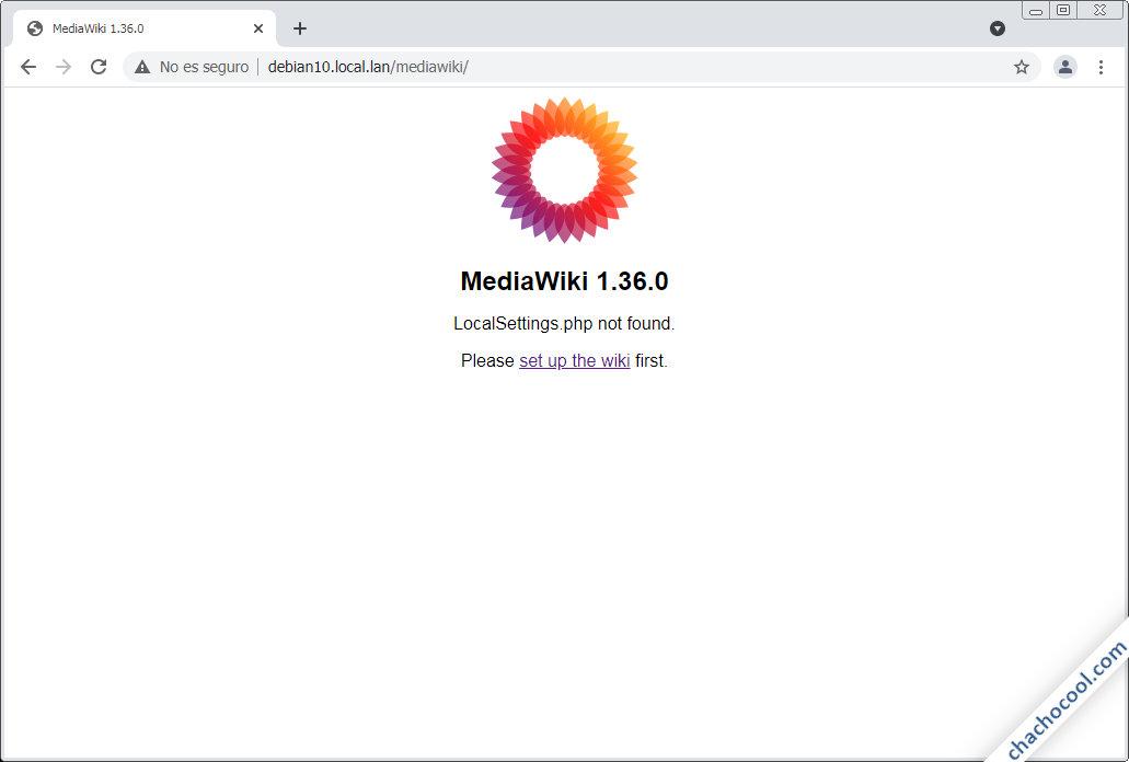 como instalar mediawiki en debian 10 buster